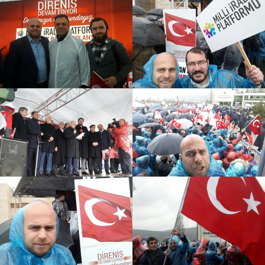 Milli İrade Platformu Basın Açıklaması ve Protestosu... - HABERLER - İSDÜŞÜM | İstanbul Düşünce ve Medeniyet Derneği